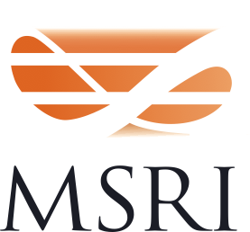 logo for Mathematical Sciences Research Institute